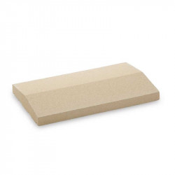 Cubremuros Albardilla de 25x50 cm Blanco