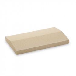 Cubremuros Albardilla de 27,5x50 cm Blanco