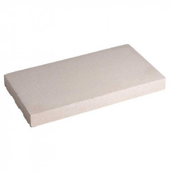 Cubremuros Losa 20x50 cm Blanco