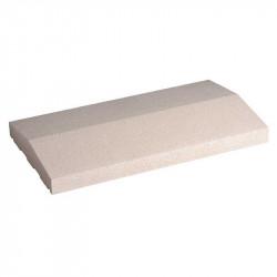 Cubremuros Albardilla de 40x50 cm Blanco