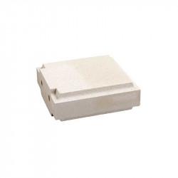 Cubrepilar para pilar clásico de 35x35x12 cm Blanco