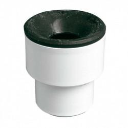 Manguito PVC Plomo A-54 40-38/40 Blanco Jimten