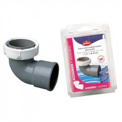 Codo Mixto PVC 1 1/2'' X 40 A-37 Jimten