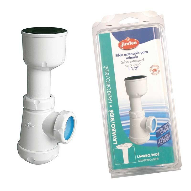 Sifón Botella Urinario Extensible 1/2'' S-380 Jimten
