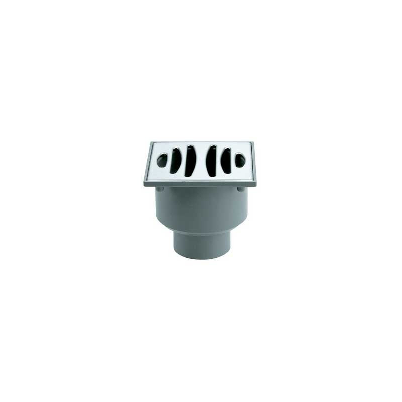 Sumidero PVC Rejilla Acero Inox 50/40 S-192 Jimten