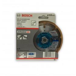 Disco de corte diamantado Bosch Granito Professional plus Ø115mm.
