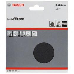 Juego de 10 hojas de lija Bosch Best for Coatings and Composites F355 Grano 120 Ø115mm.