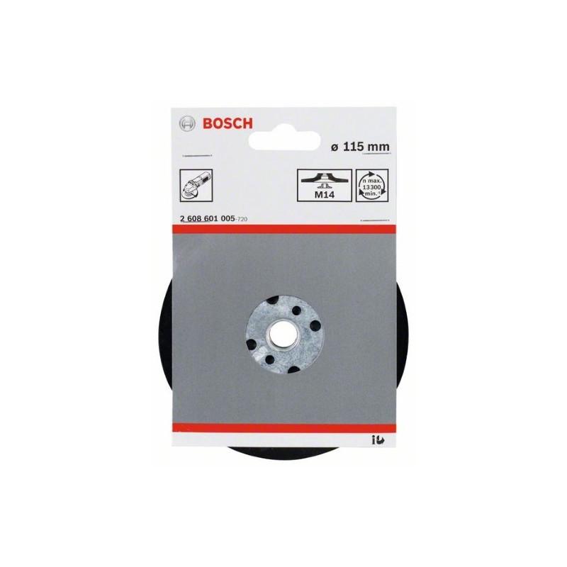 Plato de soporte estándar Bosch M14 Ø115mm.