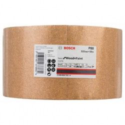 Rollo de lija de papel Bosch Best for Wood and Paint C470 Grano 80