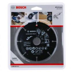 Disco de corte Bosch Carbide Multi Wheel Ø115mm.