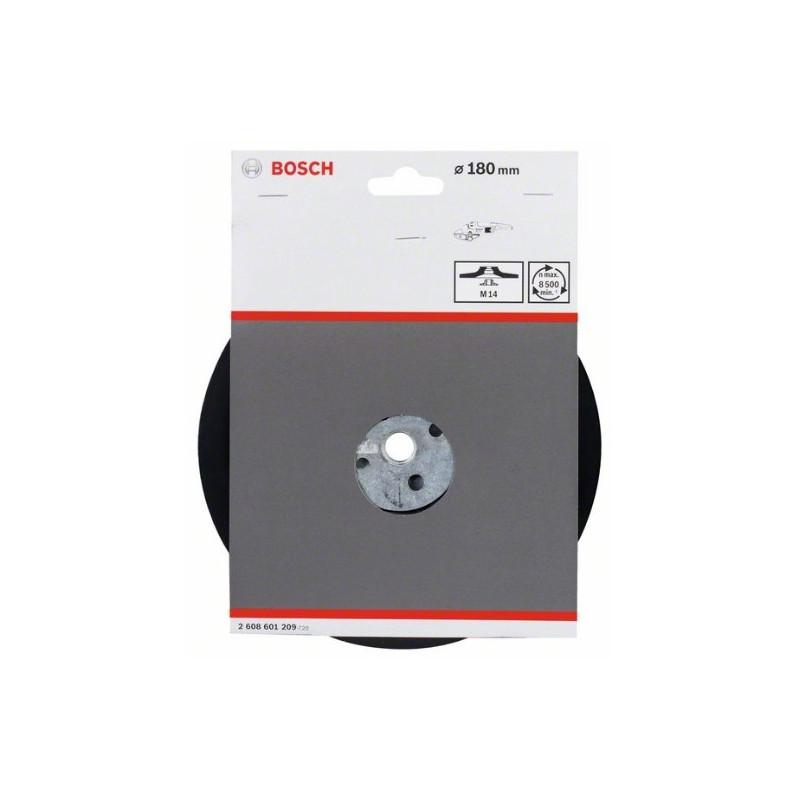 Plato de soporte estándar Bosch M14 Ø180mm.