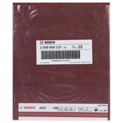 Pliego Lija Metal Grano 80 Bosch J475 230X280 mm Bosch