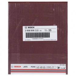 Hoja de lija Bosch Best for Metal J475 Grano 240