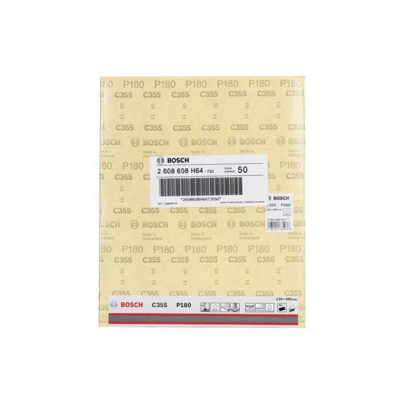 Hoja de lija Bosch Best for Coatings and Composites C355 Grano 180 230x280mm.