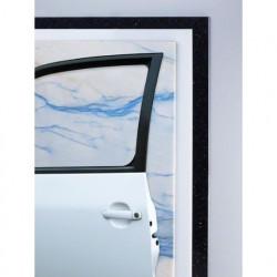 Hoja de lija manual Bosch SiC impermeable Grano 400 230x280mm.