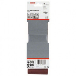 Estuche de 3 bandas de lija Bosch Best for Wood and Paint X440 Grano 60 75x457mm.