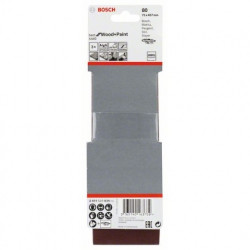 Estuche de 3 bandas de lija Bosch Best for Wood and Paint X440 Grano 80 75x457mm.