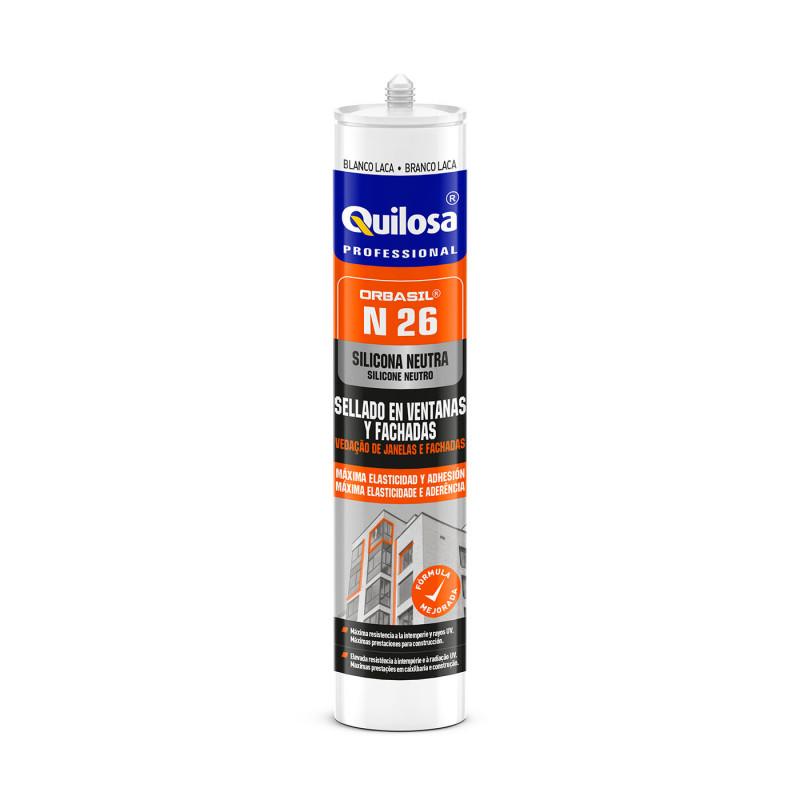 Silicona ORBASIL N-26 300 ml Translúcido Quilosa