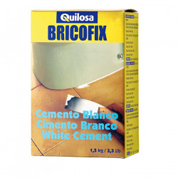 BRICOFIX CEMENTO 1.5 Kg Blanco Quilosa