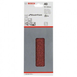 Hoja de lija Bosch Expert for Wood and Paint C430 Grano 40 93x230mm.