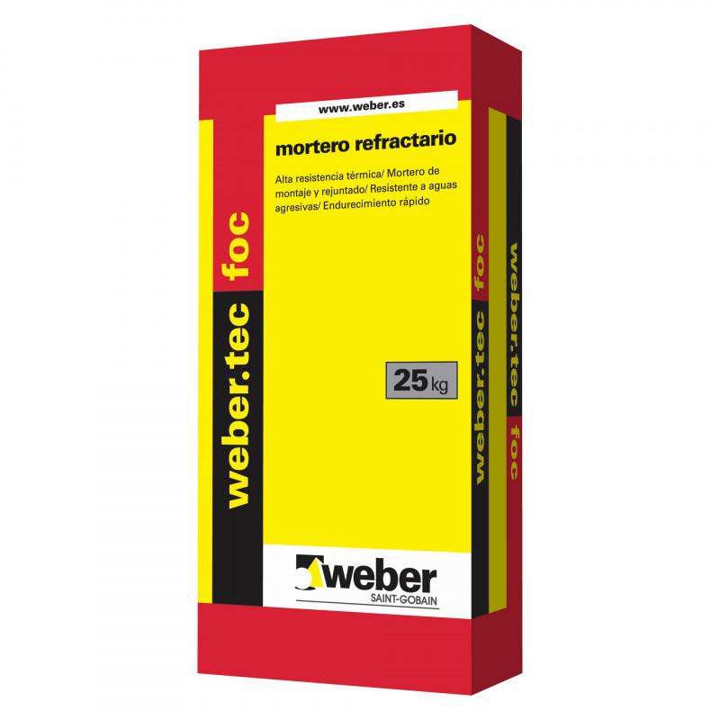 WeberTec Foc 25Kg. Negro