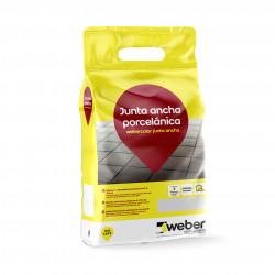 WeberColor Junta Ancha 5Kg. Blanco