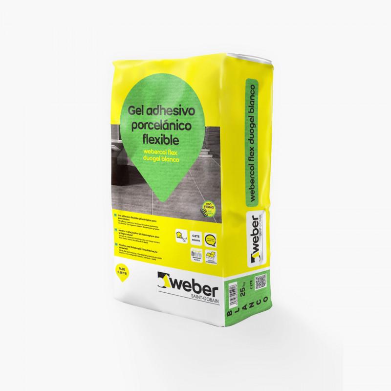 WeberCol Flex Duogel 25Kg. Blanco