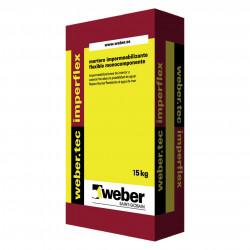 WeberTec Imperflex 15Kg. Gris