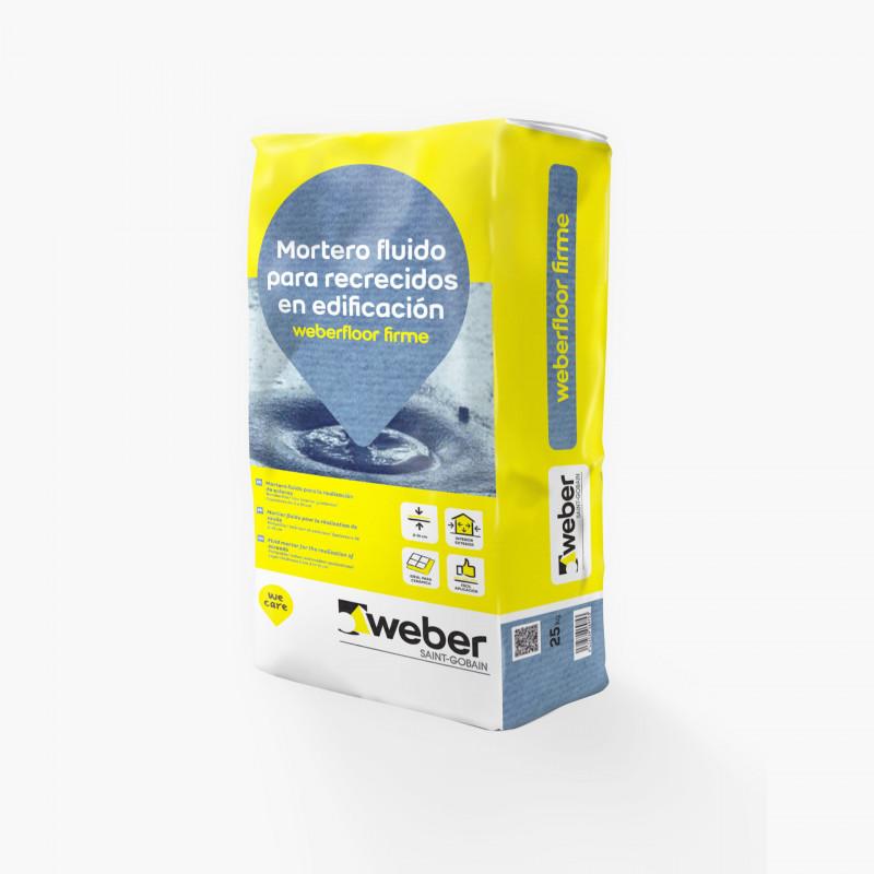 WeberFloor Firme 25Kg. Gris