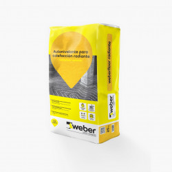 Weber Floor Radiante 25 Kg Gris Oscuro