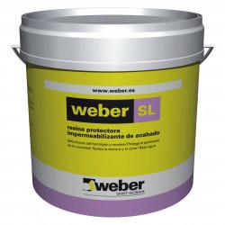 Weber SL 15 Kg. Blanco
