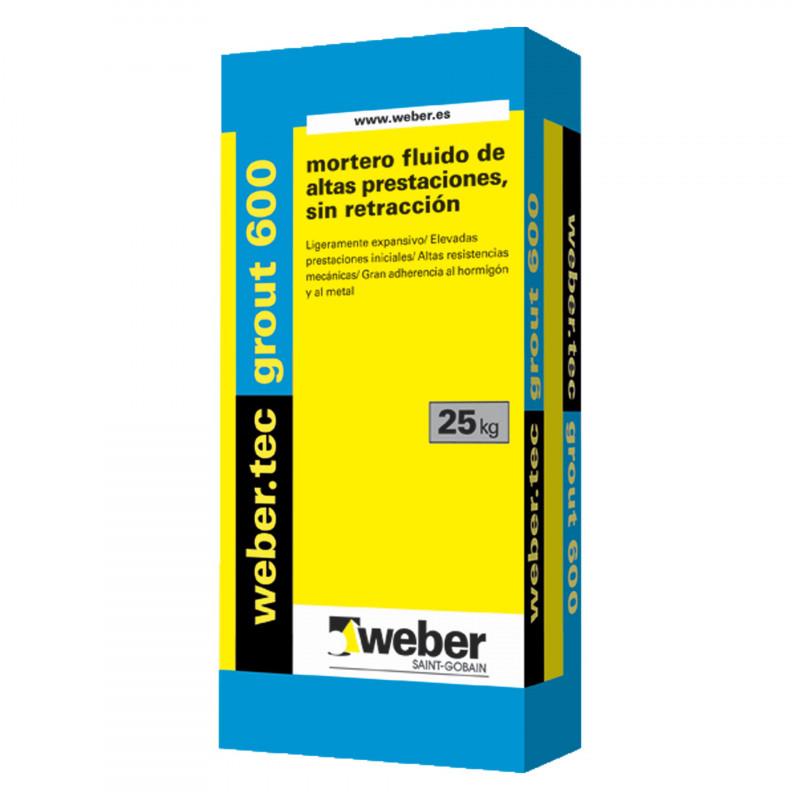 WeberTec Grout 600 25Kg. Gris