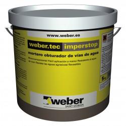 Weberdry Imperstop 5Kg. Gris