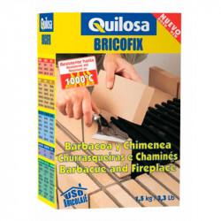 BRICOFIX Barbacoa y Chimenea 1.5 Kg Quilosa.