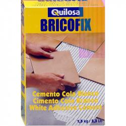 BRICOFIX Cemento Cola Blanco 1.5 Kg Quilosa
