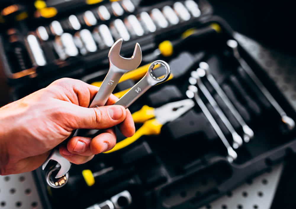 herramientas caja de herramientas