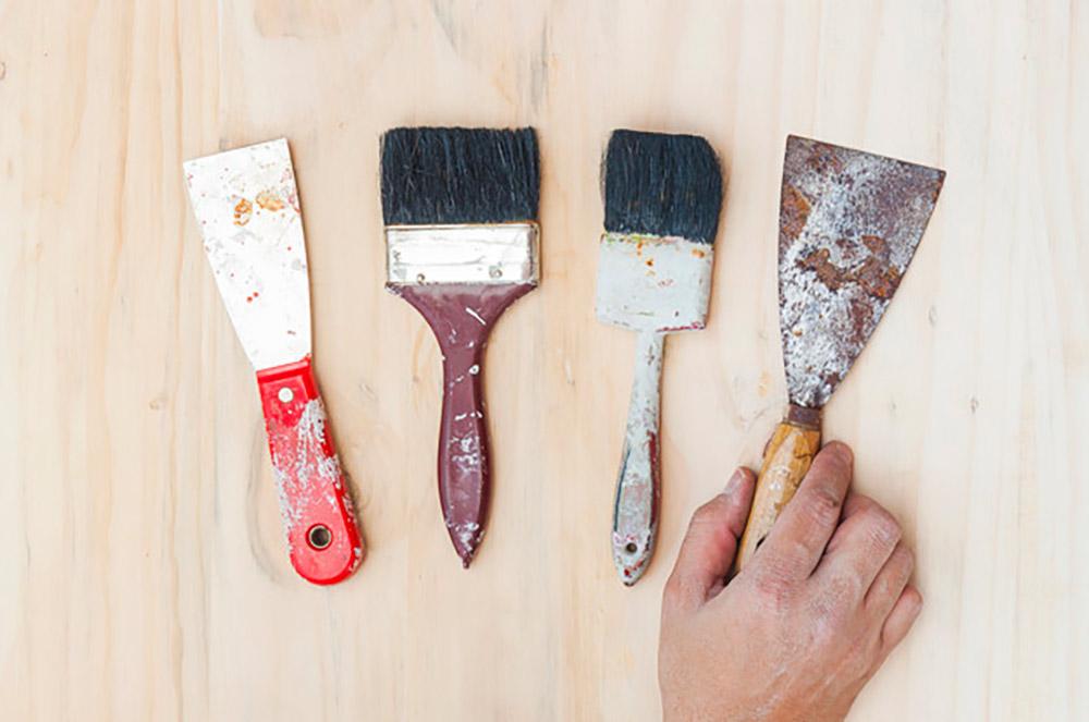 herramientas oxidadas