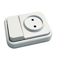 Compra soluciones de interruptores y enchufes de superficie