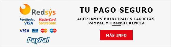 Pago seguro electrónico y transferencia bancaria